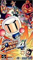 SUPER BOMBERMAN 4 Super Famicom Nintendo Japan Boxed Game