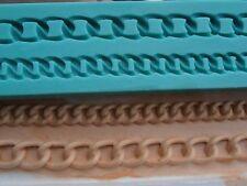 Silicone Mould FASHION CHAINS Sugarcraft Cake Decorating Fondant / fimo mold