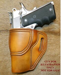 """Gary C's Leather Avenger Left Hand OWB HOLSTER Colt 1911 Combat Commander 4.25"""""""