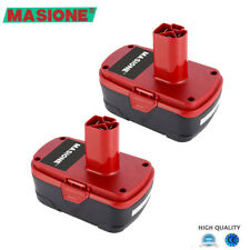 2Pack 19.2V 4000mAh Lithium Ion Battery for Craftsman C3 11375 11376 130279005