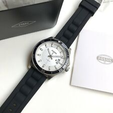 Fossil Watch * FS5070 Wakefield Date Black Rubber Strap for Men COD PayPal
