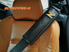Nissan 350z Carbon Design Shoulder Pads Gurtpolster avec l'inscription logo