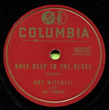GUY MITCHELL (Knee Deep In The Blues / Take Me Back Baby) POP  78 RPM  RECORD