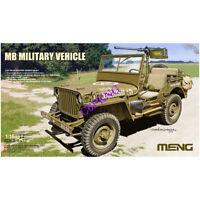 MENG VS-011 1/35 SCALE MB MILITARY VEHICLE MODEL KIT 2020