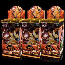 Booster Pokemon SL5 ULTRA PRISME SM5S Ultra-Soleil 450 Cartes 3 Display Coréen