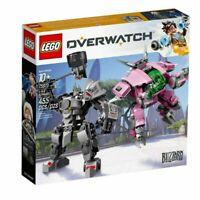 LEGO OVERWATCH 75973 D.Va e Reinhardt