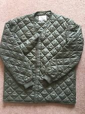 QUILTED COMBAT JACKET COLD WEATHER LINER BRAND NEW SIZE 38-40 INCH CHEST,LONG