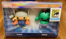 SDCC 2018 Marvel Collector's Magnet Thor & Hulk Monogram Foam Magnets COMIC CON