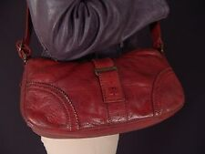 Authentic Belstaff Small Baguette Leather Purse Shoulder Bag NWT