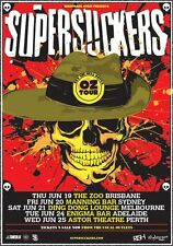 SUPERSUCKERS 2014 Australian Tour Poster A2 Get It Together Devil's Food **NEW**