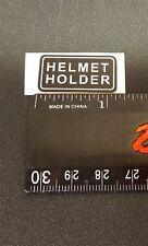 HELEMET HOLDER 1986 1985 ATC 250R HONDA DECAL STICKER EMBLEM USED ON TRX 250R
