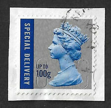 GB 2010 Royal Mail Special Delivery up to 100g stamp used date MA10 SG U3051
