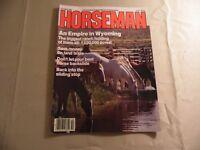 Horseman Magazine / October 1985 / Free Domestic Shipping