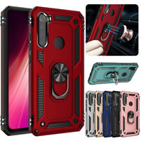 For Xiaomi Redmi 8/7A/8A/Note 8/7/7 8 10 Pro Shockproof  Armor Stand Case Cover