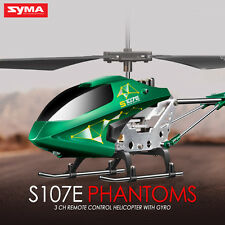 Syma S107 3.5Ch Infrared Remote Control Plane LED RC Helicopter Kids Best Gift
