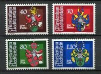 35325) Liechtenstein 1980 MNH Coat Of Arms 4v Scott #