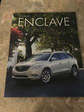 2016 Buick Enclave 38-page Original Sales Brochure