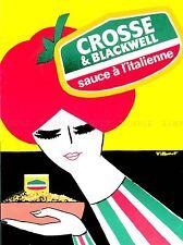 Pubblicità alimentari Salsa POMODORO ITALIANO Donna CIOTOLA PASTA Bandiera Colori POSTER lv895