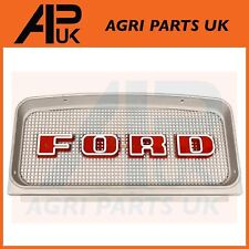 RED Ford 2000 3000 4000 5000 7000 Tractor Top Upper Grille Grill Front Plastic