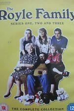 The Royle Family - Series 1, 2 & 3 - Complete (DVD, 3-Disc Set) . FREE UK P+P ..