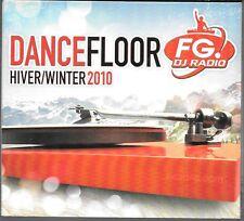 CD COMPIL DIGIPACK 22 TITRES--DANCE FLOOR 2010--BLACK EYED PEAS/RIHANNA/INNA...