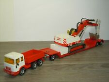 MAN Truck with Low Loader and Crane - Siku Germany *42749