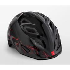 Childrens cycle helmet MET Genio Black Flames 52-57cm