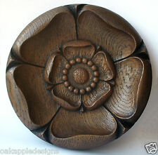 Yorkshire Rose Carving Tudor Ornament Traditional York Gift Wall Decor Plaque UK