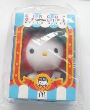 "HELLO KITTY 6"" Circus Of Life DARE DEVIL Plush Toy McDonalds Malaysia MINT 2014"
