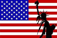 PREMIUM Aufkleber USA Liberty Amerika Fahne Flagge Autoaufkleber Auto Sticker