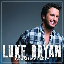 LUKE BRYAN CD - CRASH MY PARTY (2013) - NEW UNOPENED - COUNTRY