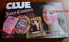 JUICY COUTURE Board Game CLUE w/ Collectible Charms NIB