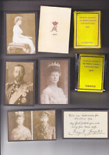 REPRODUCTION PRINCESS MARY 1914 CHRISTMAS TIN SET 2 (AGED LOOK)