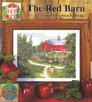 "The Red Barn Cross Stitch Kit - Design Works 11"" x 14"""