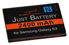 ORIGINAL jubatec Batería para Samsung Galaxy S3 gt-i9300 con NFC eb-l1g6llu