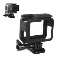 Frame Mount For GoPro HERO 5 6 7 Camera Protective Case Tool Housing Black CL