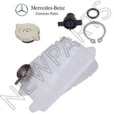 For Mercedes W126 300SD b450SE Coolant Expansion Tank w/ Cap & Plug Kit