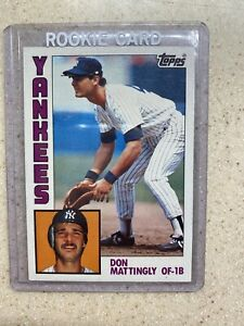 1984 Topps Don Mattingly Rookie Card #8 Mint