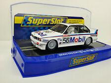 Slot car Scalextric Superslot H3929 BMW M3 E30 1988 Bathhurst Brock/Richards