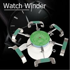 Wristwatch Tester Test Machine Mechanical Watch Automatic Winder for 6 Watches