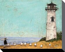 SAM TOFT (SEVEN SISTERS AND A LIGHTHOUSE) Box Canvas Print 40 X 50cm