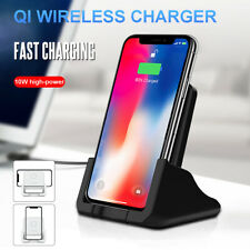 Wireless Charger Fast Charging Phone Holder Stand Charger Pad Mat fo