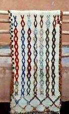 Moroccan  woollen Azilal tribal rug  170 x 85 cm