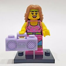 """LEGO Collectible Minifigure #8805 Series 5 """"FITNESS INSTRUCTOR"""" (Complete)"""