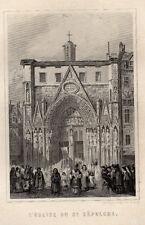 PARIS ANCIEN & HISTORIQUE / L'EGLISE  DU St SEPULCRE