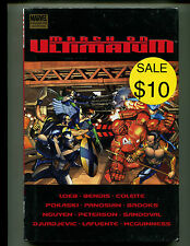 MARVEL MARCH ON ULTIMATUM HC/GN (SEALED)
