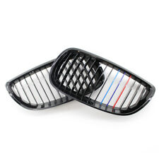 2Pcs Gloss Black Kidney Grill Grille fit for BMW E92/93 3 Series Cabriolet