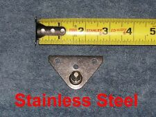 Stainless Nitro Gas Strut Shock Spring Wall Side Bracket Mount 10mm Ball Stud SS