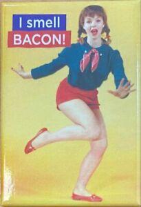 I Smell Bacon Fridge Magnet