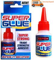 Rapid Industrial Grade GP Medium Viscosity Super Glue Superglue Adhesive 20g
